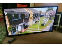 Samsung 60 Inch 3D HD tv excellent condition fully working with remote control 2x3D glasses