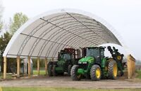 42'x72' Complete Fabric Building includiing posts & Engineered