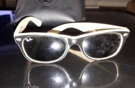 Limited Edition Wafer Black Cream Ray Ban Sunglasses