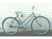 Ladies Raleigh classic traditional vintage townbike