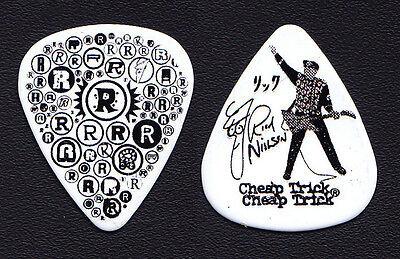 Cheap Trick Rick Nielsen White R's Guitar Pick - 2013 Tour