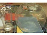4 fish bowls £2 each