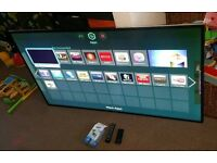 Samsung 60 inch 3D smart wifi excellent condition fully working with remote control