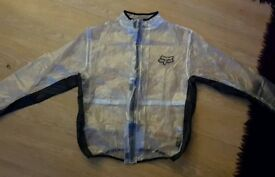 NEW Fox Fluid waterproof jacket Medium