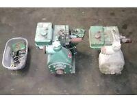 Briggs and stratton alcon vintage water pumps