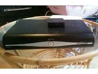 Sky+HD box with wireless connector