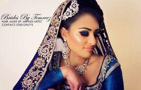 Hair, make up,Mehndi artist -bridal and party -make up classes