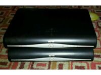 2x Sky +HD Boxes no cables or remotes (Spares or Repair)