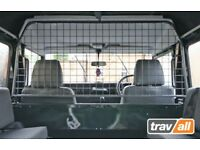 Land Rover Defender 90 or 110 Dog Guard (bulkhead top type).