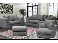 Large corner sofas free delivery free footstool