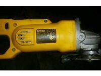 DeWalt DC411 18v grinder (bare unit only)