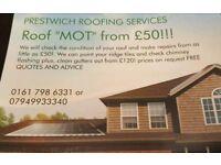 Roof repairs/maintenance