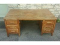 Large antique desk (free local delivery)