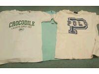 X3 boys tshirt bundle Lacoste & Ralph Lauren