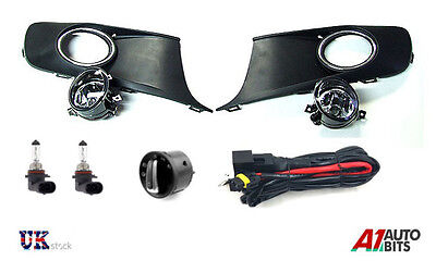 FOG LIGHT,GRILL WIRING LOOM AND SWITCH FULL SET FOR VW TOURAN / CADDY 2010 -2014
