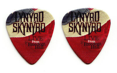 Lynyrd Skynyrd Live From Freedom Hall US Flag Promotional Guitar Pick
