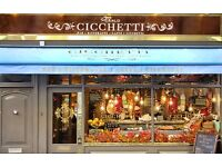 Successful Restaurant in London seeking to employ a pasta chef and grill chefwith experience