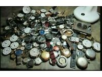 Wanted old watches and related items