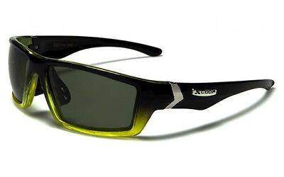 0bf6551015581 Mens X Loop Polarized Sunglasses XL57504PZ Davis A1 black sunnies fishing  yellow