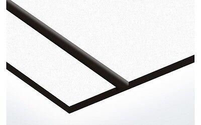 Laser Engraving Stock Sheet. Whiteblack 12x24 Duets By Gemini