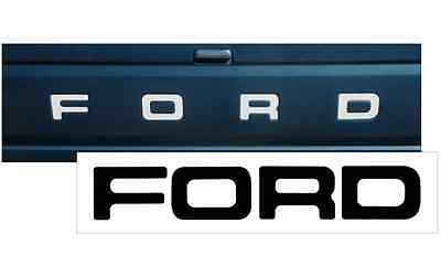 - 1987-1991 FORD F-150 TAILGATE VINYL DECAL STICKER VEHICLE TRUCK  BLACK or WHITE