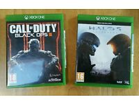 Call of Duty Black Ops 3 & Halo 5 Guardians Xbox One