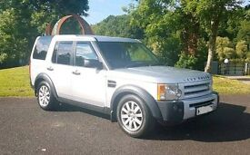 Land Rover Discovery 3 4x4 fantastic family 7 seater car