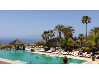 Tenerife Christmas Last Minute Bargain: 2 bed pool-side apartment suite: Regency County Club Chayofa