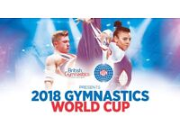 X4 Tickets For 2018 Men's Gymnastics World Cup, Block 4, Arena Birmingham
