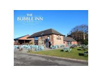 Bar staff required for busy canal side hotel/gastro pub