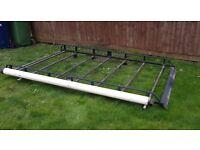 Vivaro roof rack & pipe tube.