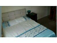 x2 Dunelm pillow cases and Duvet cover set. Super king Size, Duck Egg colour