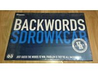 Backwords Board Game [BNIP]