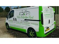 Mobile valeting business ready to work with website and phone number