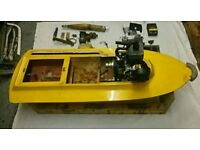 2 stroke rc boat unfinished project