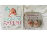 First-time Parent, and baby names books