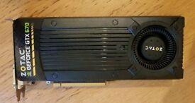 Geforce GTX 670 graphics card