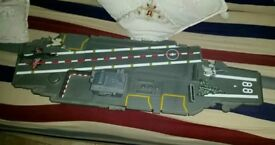 Giant Aircraft Carrier Toy