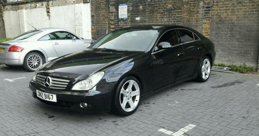 mercedes cls 320 cdi 2006 auto in stratford london gumtree. Black Bedroom Furniture Sets. Home Design Ideas