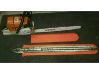 Stihl ms650 chain saw