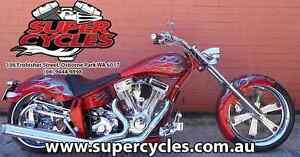 2009 PRO ONE DOMINATOR 114 CUBIC INCH RED WITH SILVER FLAMES Osborne Park Stirling Area Preview