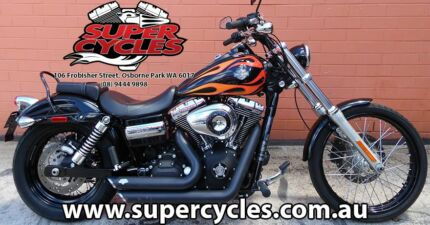2011 HARLEY-DAVIDSON FXDWG DYNA WIDE GLIDE Osborne Park Stirling Area Preview