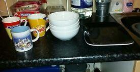 Free plates bowls and mugs