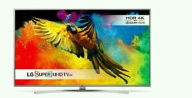 """LG 55"""" 4K SUPER UHD TV SMART WIFI HD FREEVIEW. COMES WITH WARRANTY."""