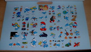 Smurfs Jumbo Coloring Poster Pad (incl 70 + Stickers) or Toy lot
