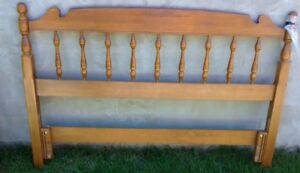 Solid Maple Vilas Double Bed Headboard