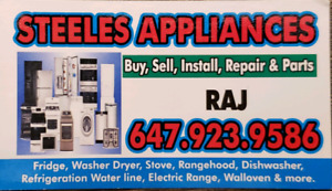 Appliances sale and repair