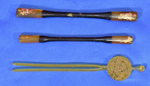 Antique craft combs in the Edo period #3755