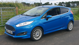 Ford Fiesta 1.0l EcoBoost Titanium FREE ROAD TAX