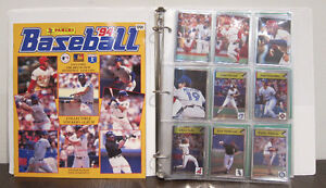 Baseball 94' MLB Panini Complete Sticker Album